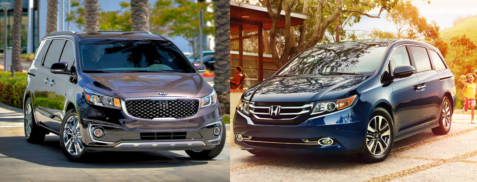 face off friday kia sedona vs honda odyssey the official blog of. Black Bedroom Furniture Sets. Home Design Ideas