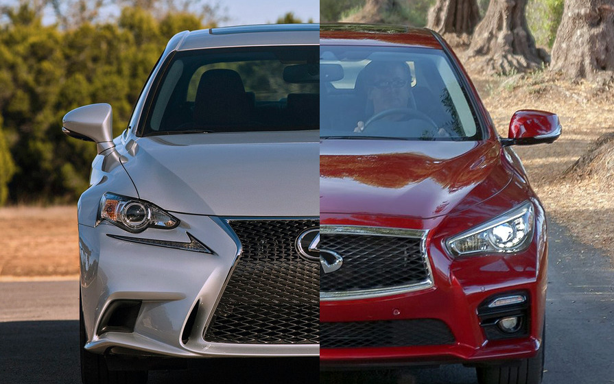 Face Off Friday Infiniti Q50 Vs Lexus Is
