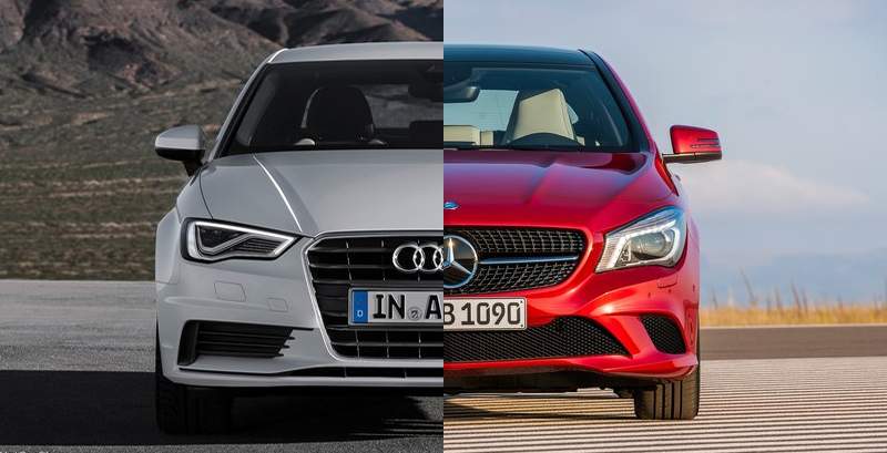 Mercedes-Benz CLA-Class vs. Audi A3 - The Official Blog of SpeedList ...