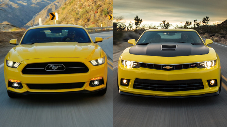 2015 ford mustang gt vs 2015 chevrolet camaro ss the. Black Bedroom Furniture Sets. Home Design Ideas