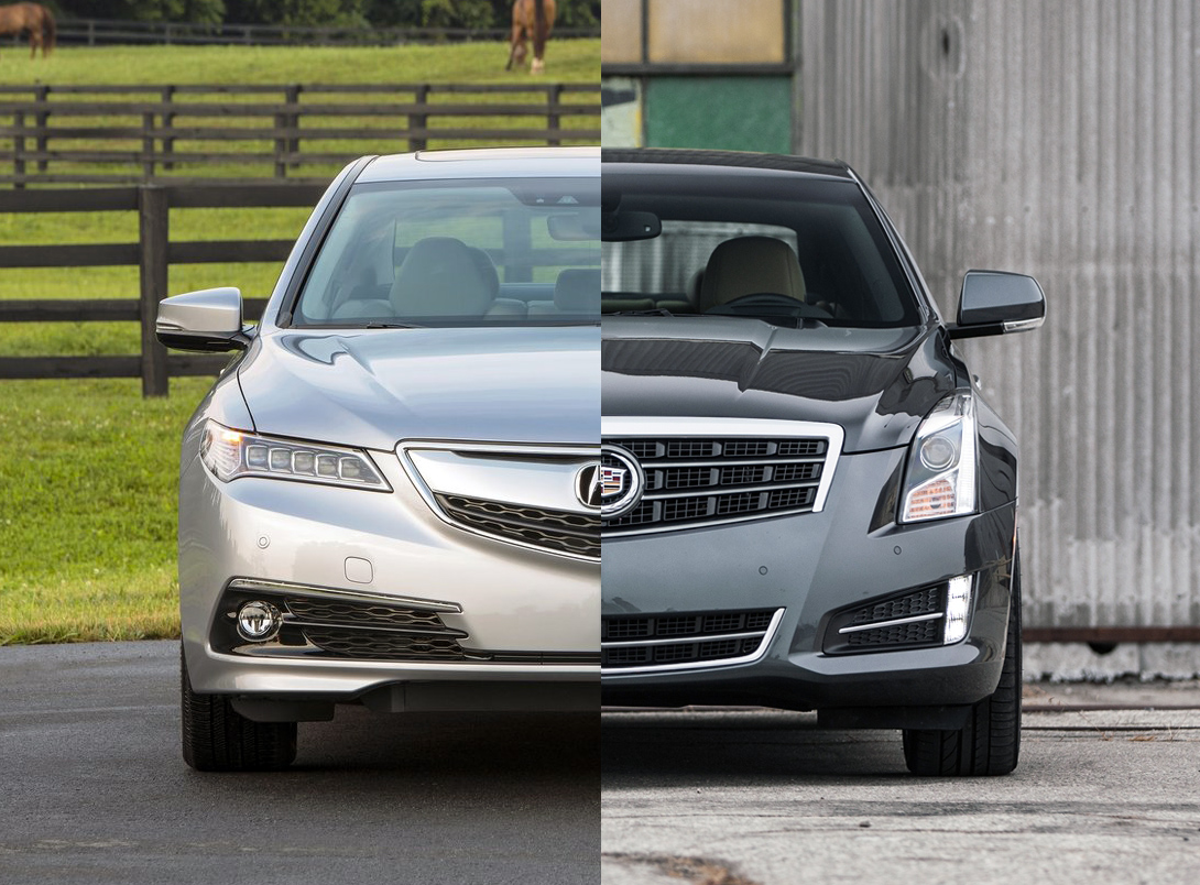 2015 acura tlx vs 2014 cadillac ats the official blog of. Black Bedroom Furniture Sets. Home Design Ideas