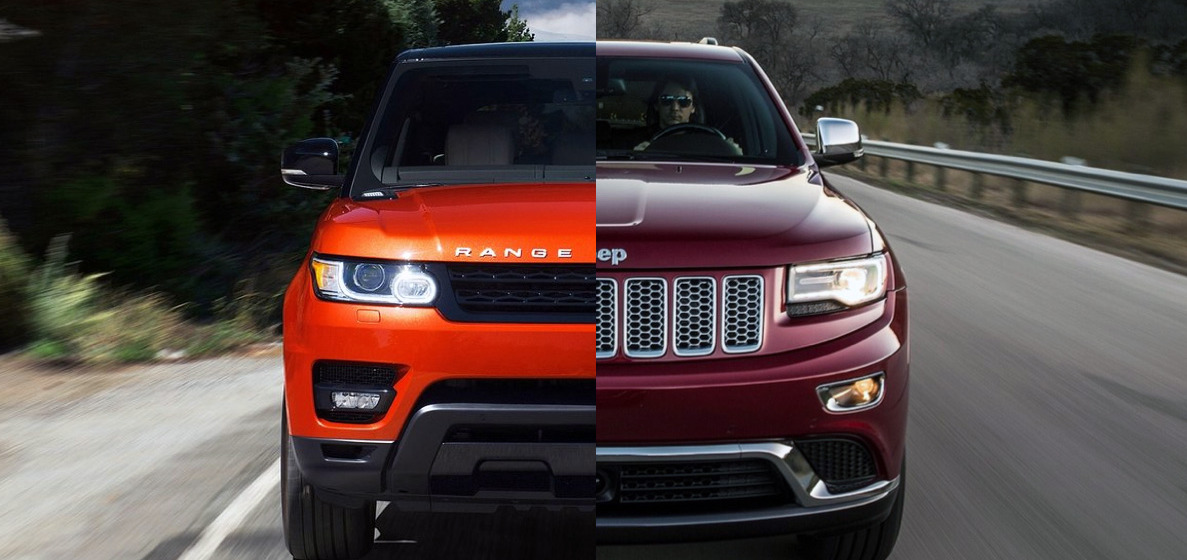 Range Rover Sport Se Vs Jeep Grand Cherokee Summit The Official