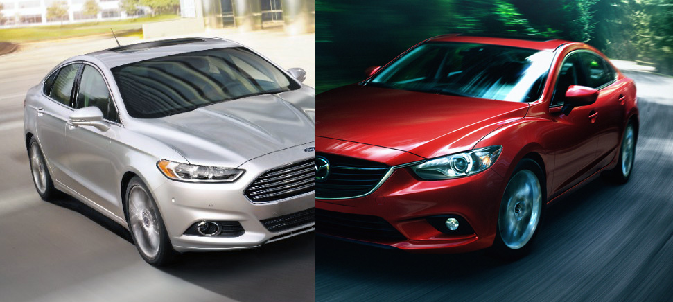 Face Off Friday: Ford Fusion Vs Mazda6
