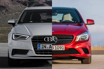 Mercedes-Benz CLA-Class vs. Audi A3