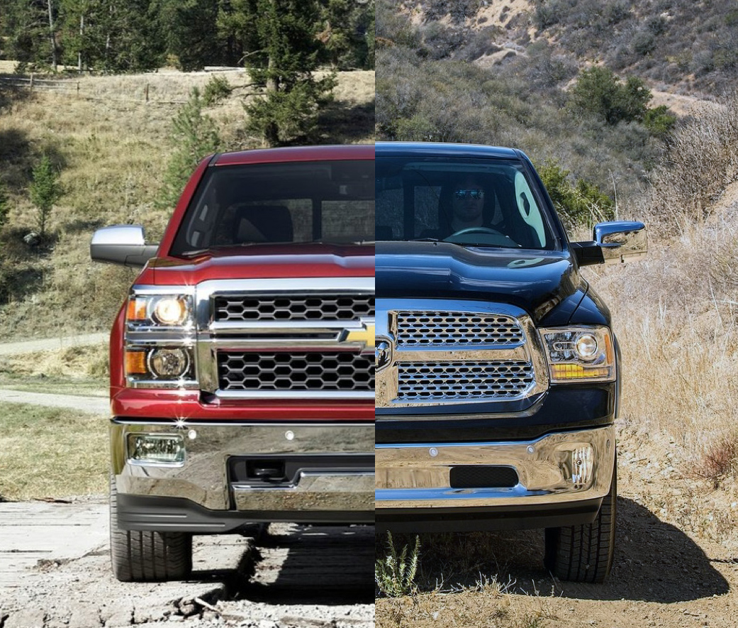 Dodge Ram Trucks For Sale >> Chevrolet Silverado 1500 vs Ram 1500 - The Official Blog of SpeedList.com