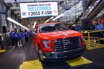 2015 Ford F-150 Production