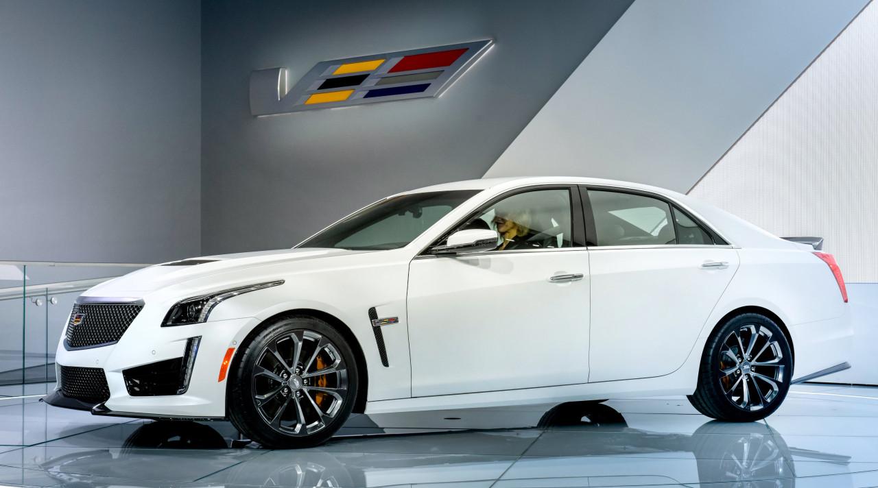 Cadillac CTS-V Reveal
