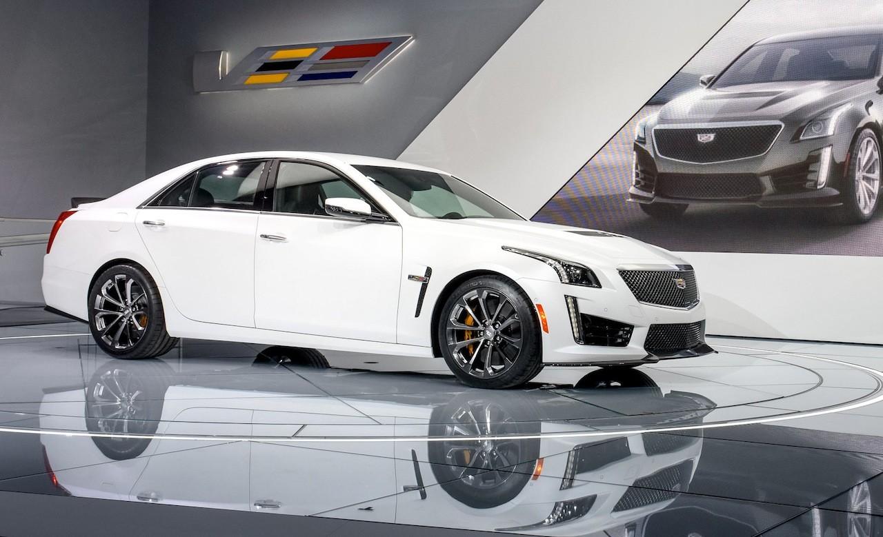 Cadillac Unveils 200 MPH CTS-V At 2015 NAIAS