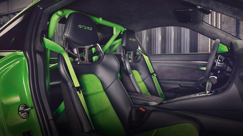 Porsche 911 GT3RS Interior
