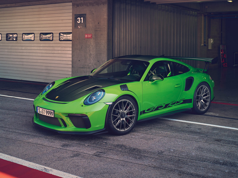 Track Ready: New Porsche 911 GT3RS